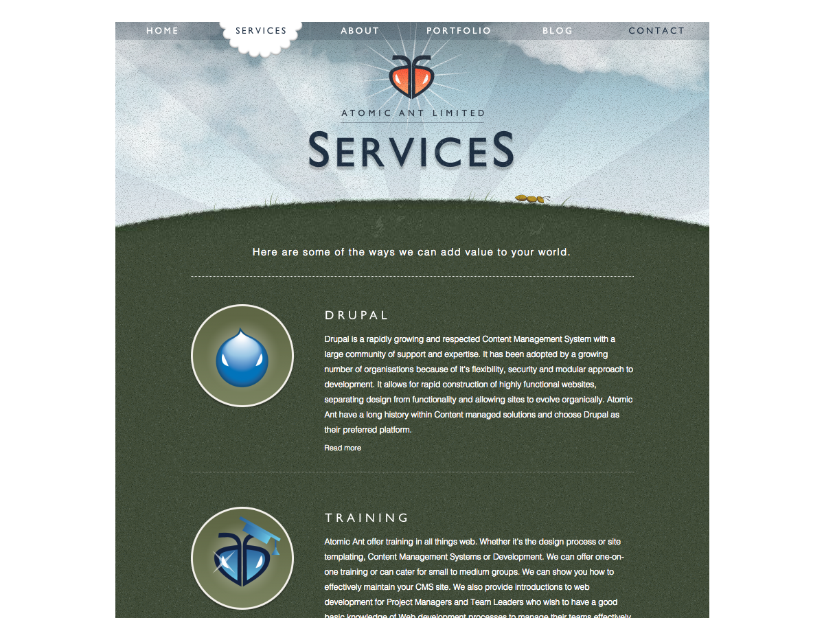Atomic Ant Limited - Services