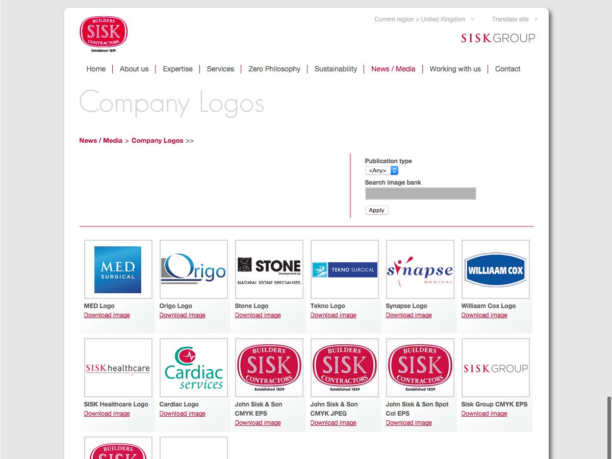 John Sisk and Son - Logo Library