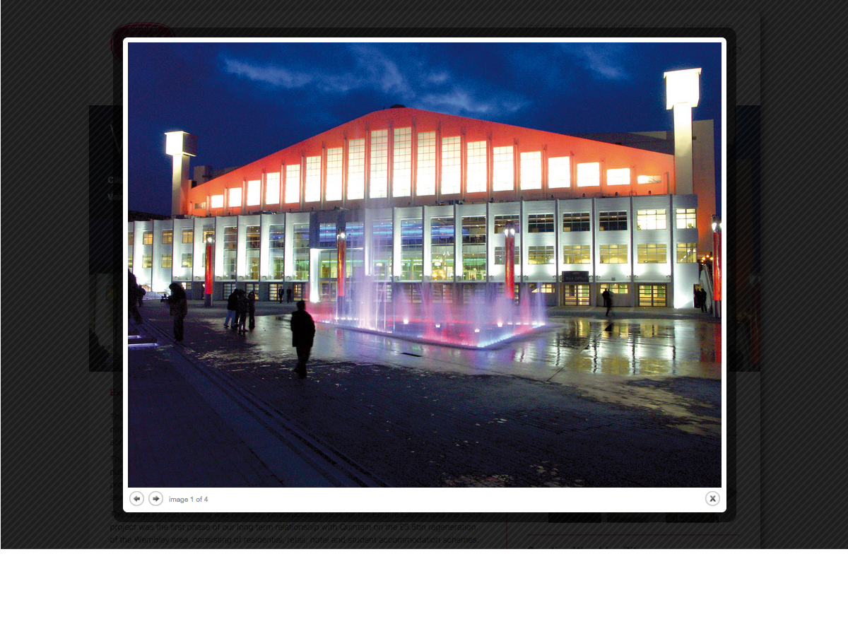 John Sisk and Son - Project - Wembley Arena (Overlay)
