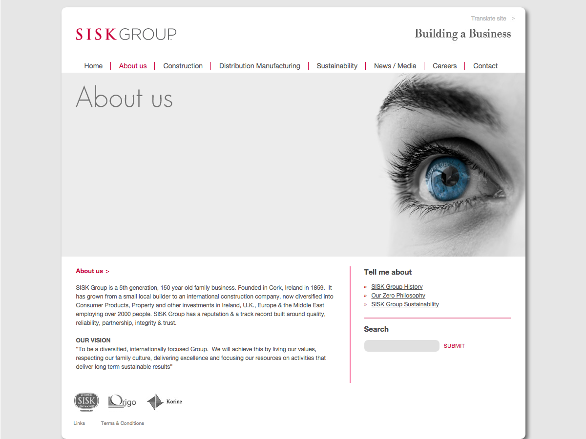 Sisk Group - About us