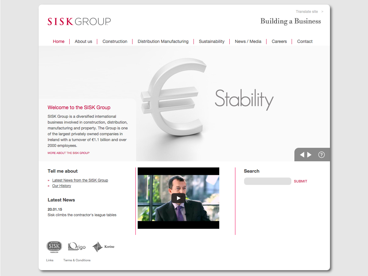 Sisk Group - Home page