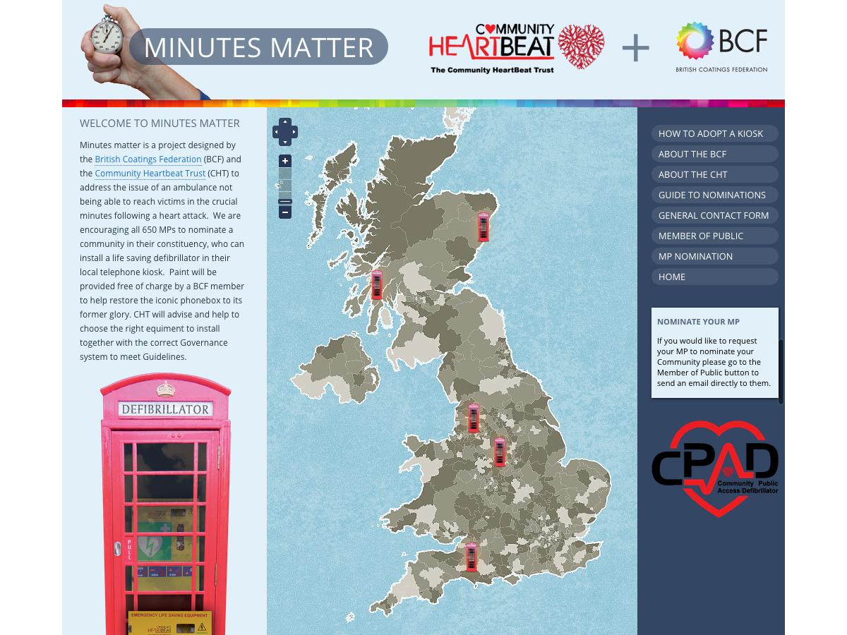 Minutes Matter Website