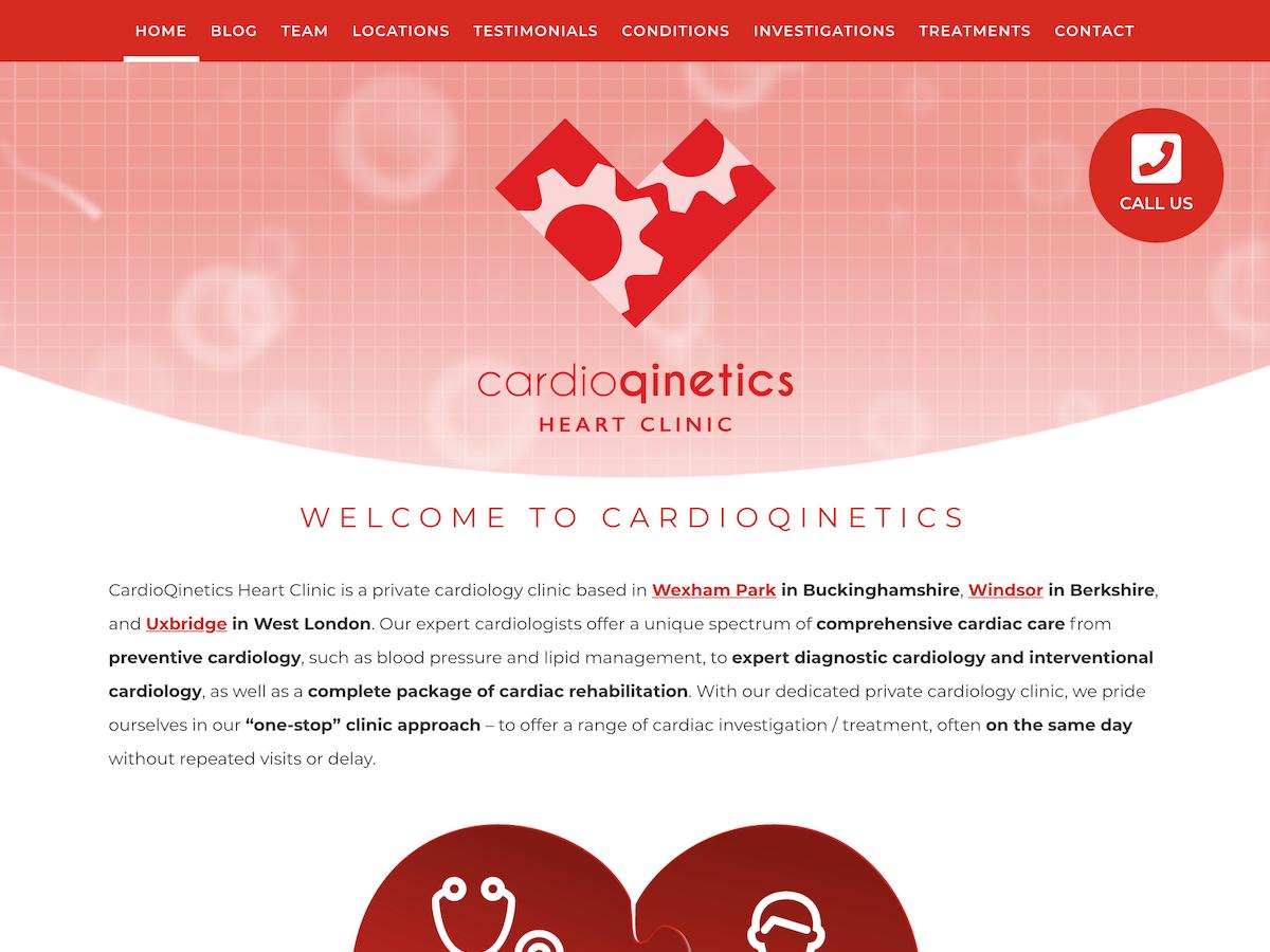 Cardioqinetics home page