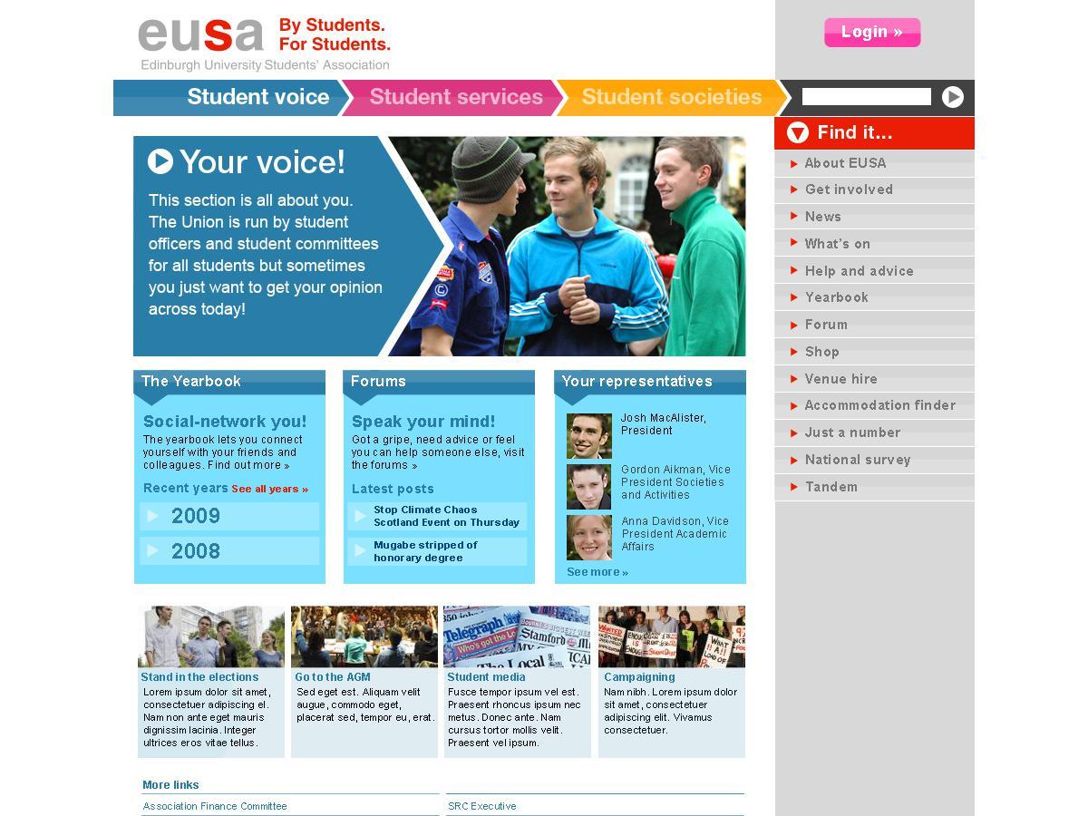Edinburgh University Students Union - Your Voice