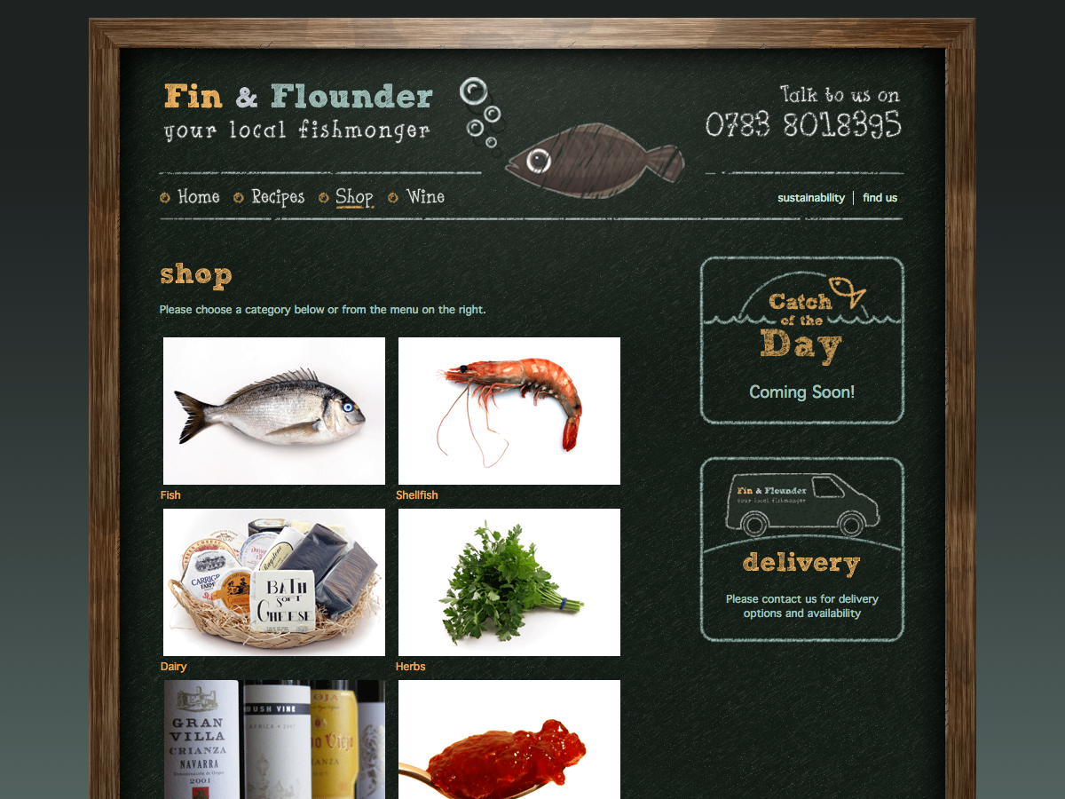 Fin and Flounder - Shop