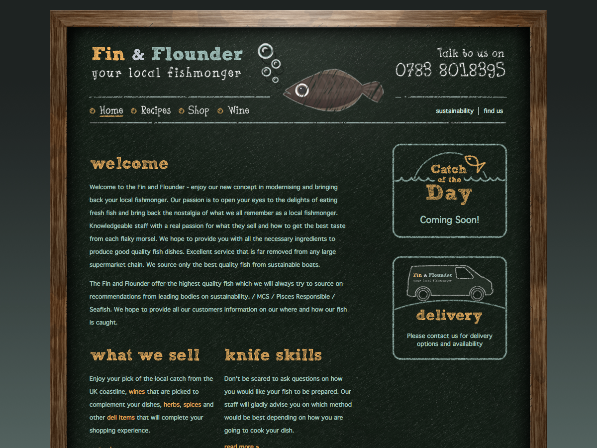 Fin and Flounder