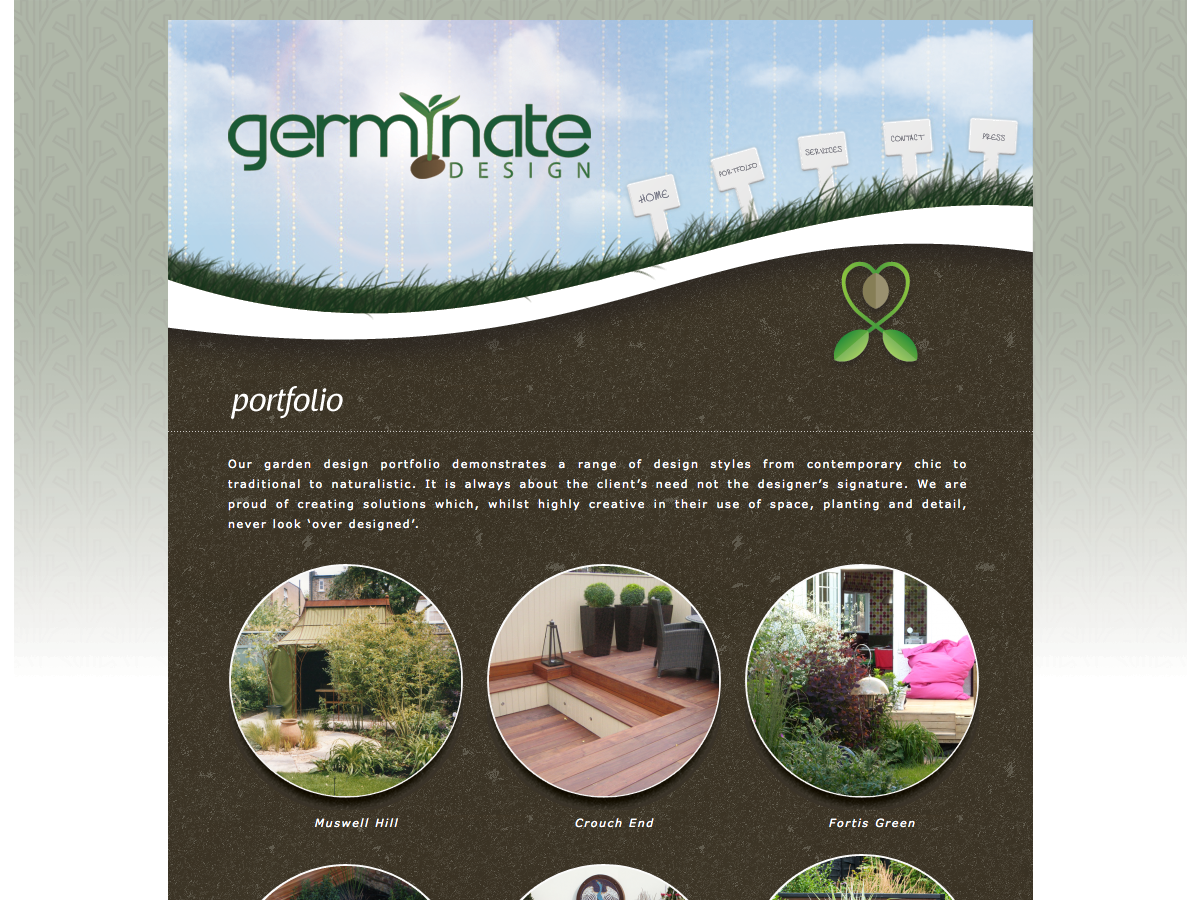 Germinate Garden Design - Portfolio
