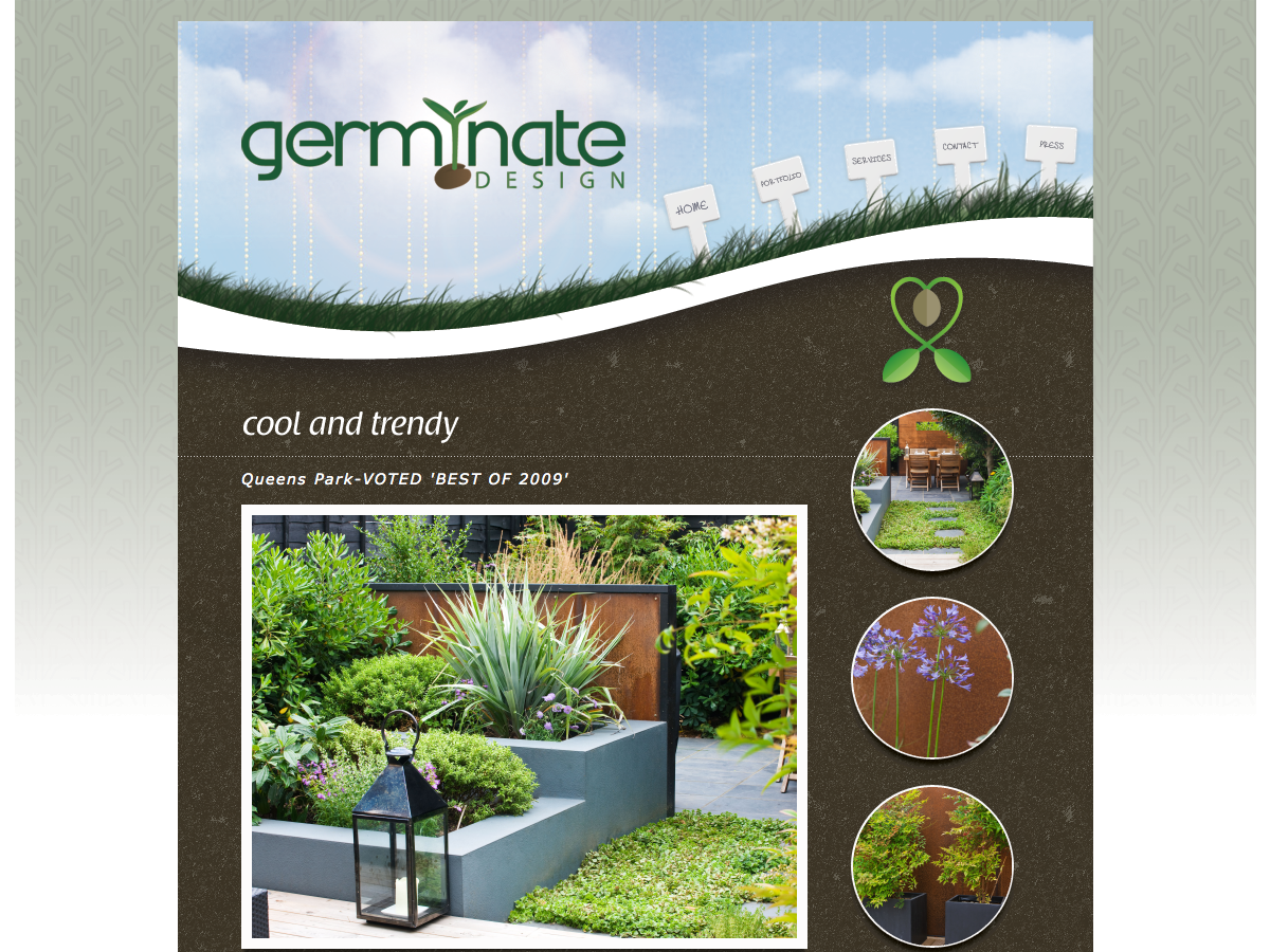 Germinate Garden Design - Featured garden