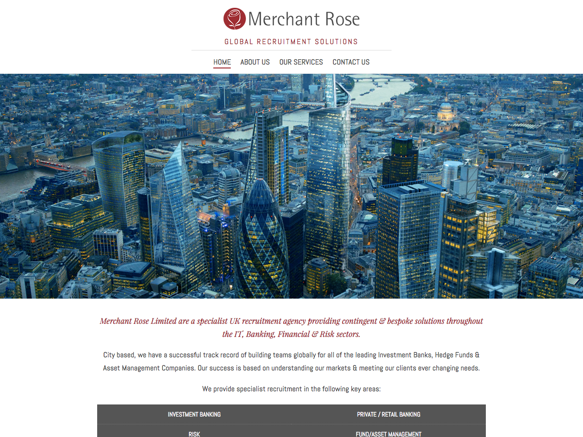 Merchant Rose Home Page