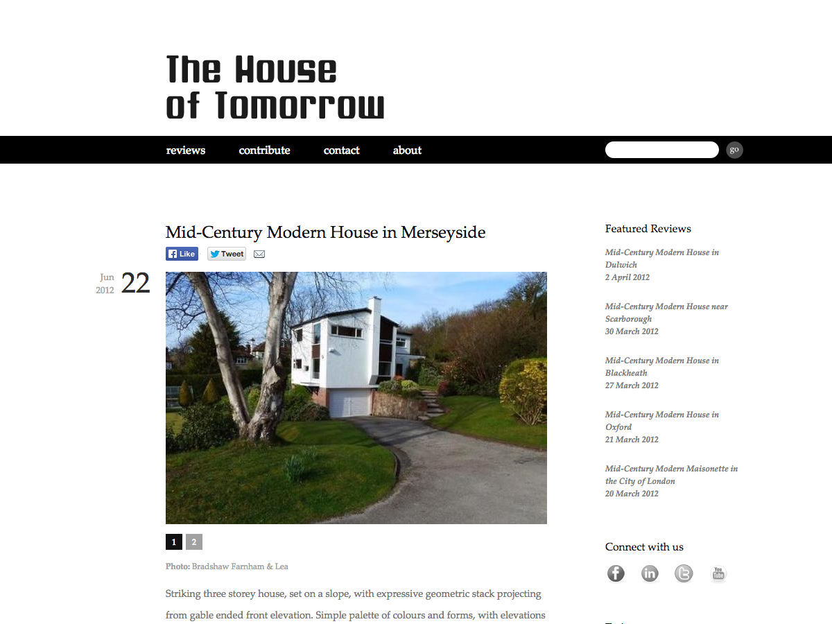 House of Tomorrow - Review