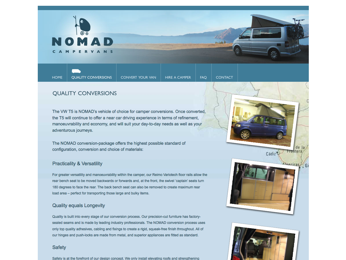 Nomad Campervans - Conversion