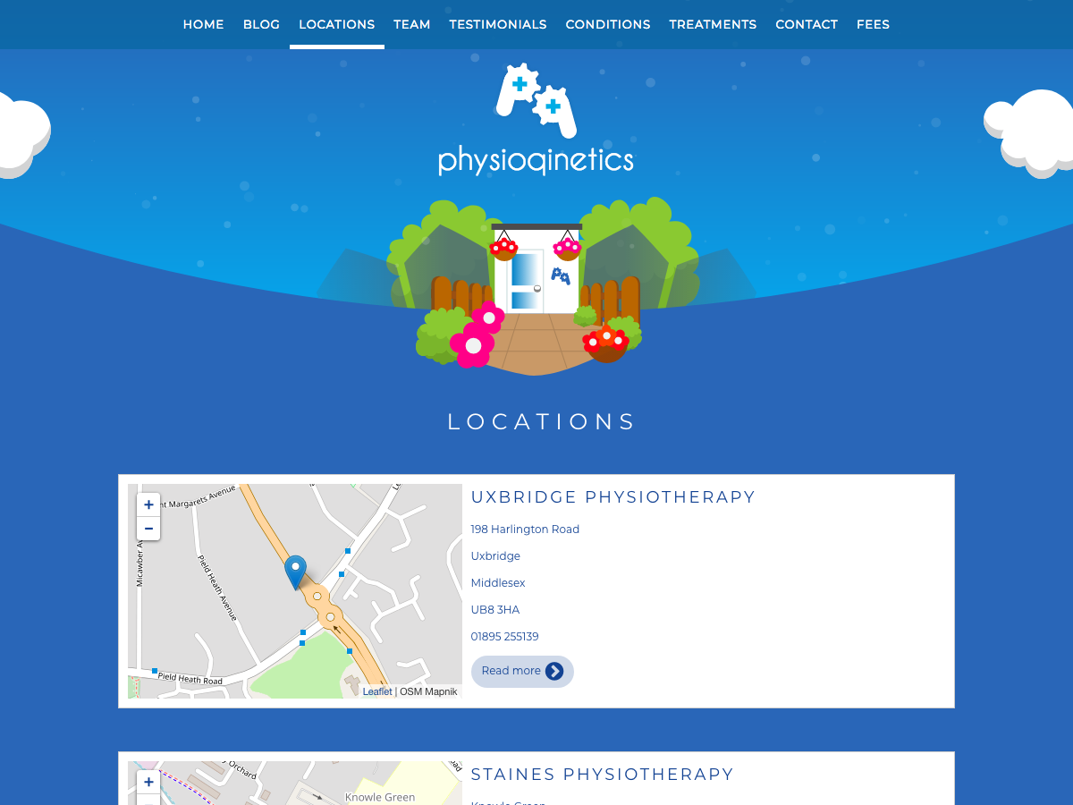 PhysioQinetics Locations