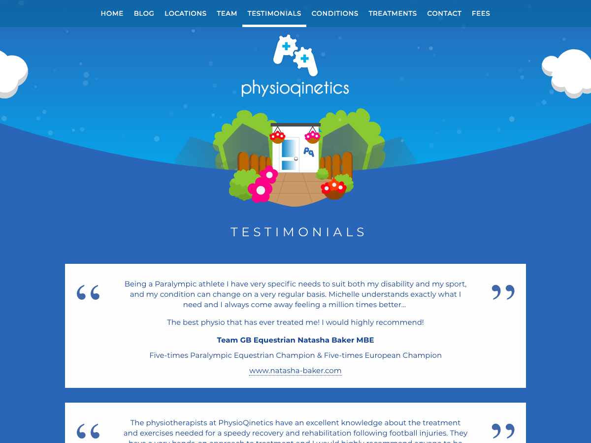 PhysioQinetics Testimonials