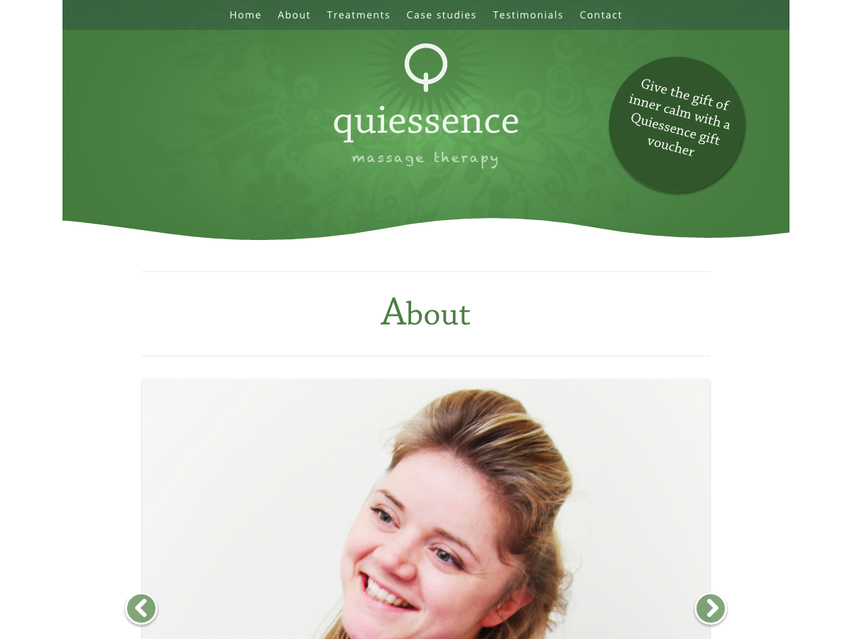 Quiessence Massage - About