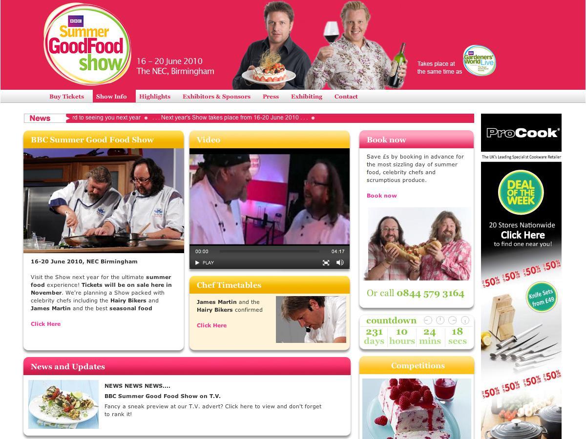 BBC Good Food Show