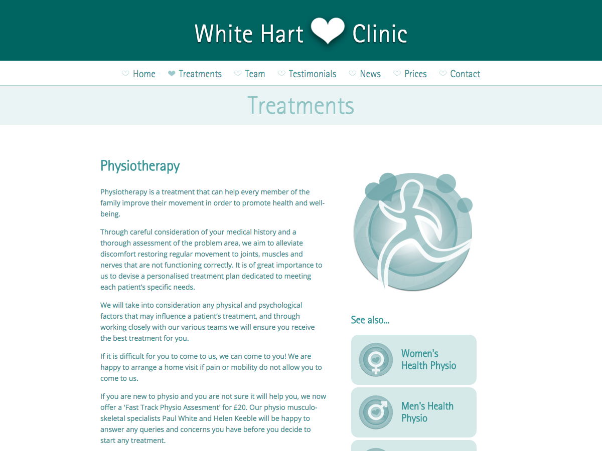 White Hart Clinic - Physiotherapy