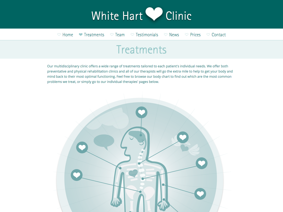 White Hart Clinic - Treatments
